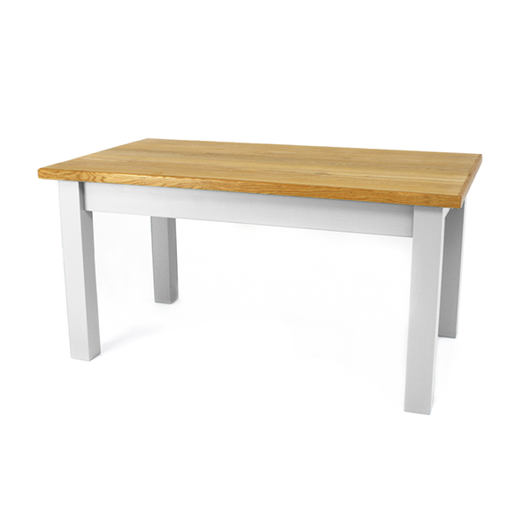 Blakelow table - Soft White, oak top