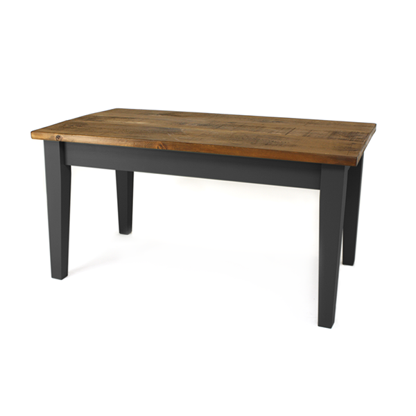 Astbury table - Carbon Grey, pine top