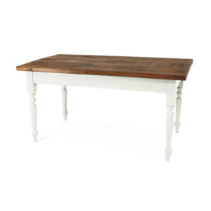 Cauldon table - Meadow Silk, pine top