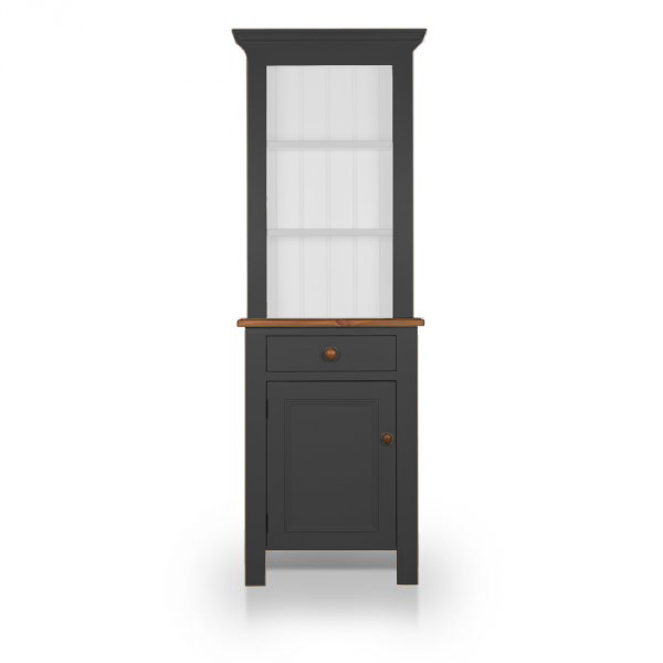 Single Dresser with open top - Carbon Grey