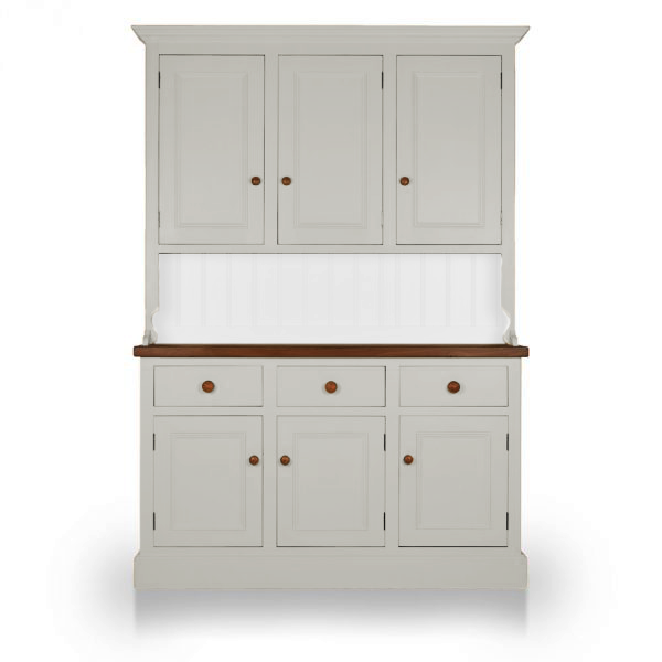 Welsh Triple Dresser with closed top - Claymore Grey