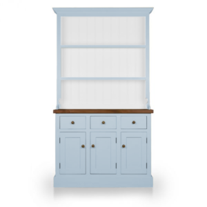 Welsh Triple Dresser with open top - Brindley Blue