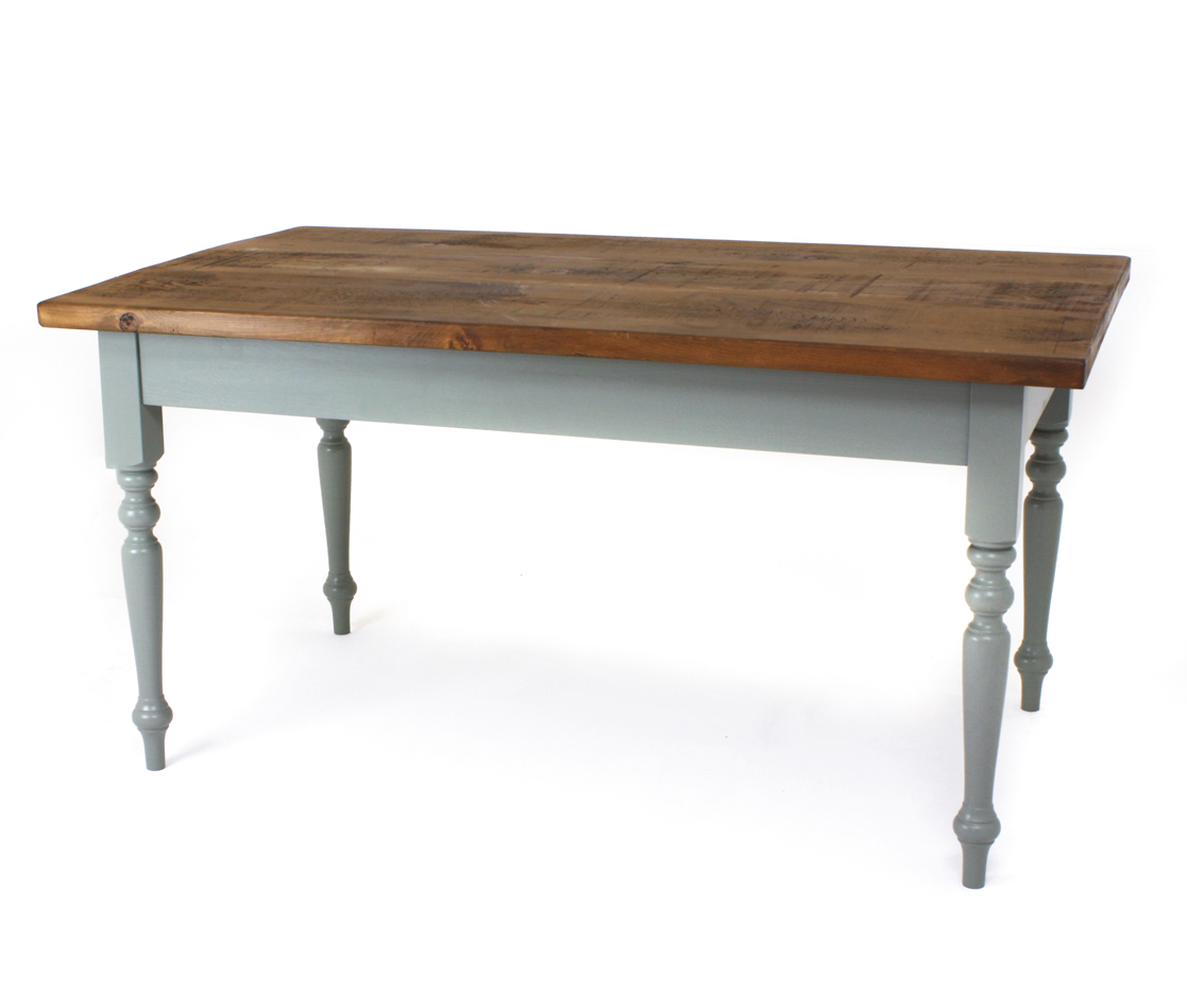 3″ Farmhouse leg table