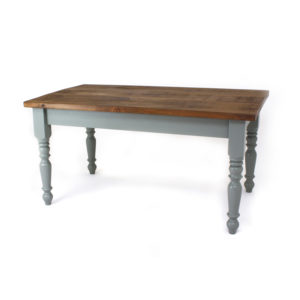 Pine Top 4 inch Farmhouse Leg Table