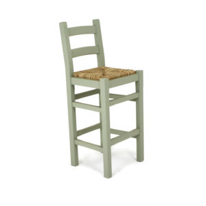 Staffordshire ladderback bar stool