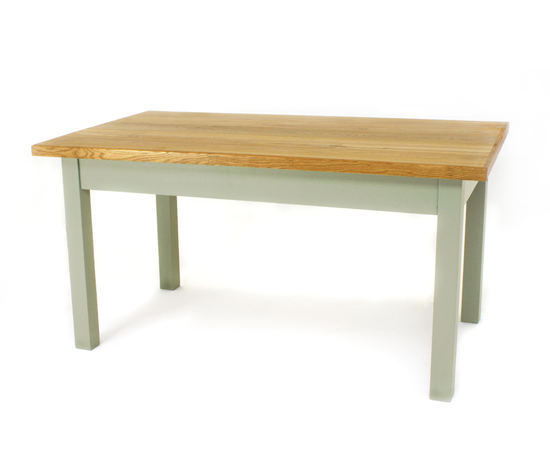 Pine Top 3 inch Square Table