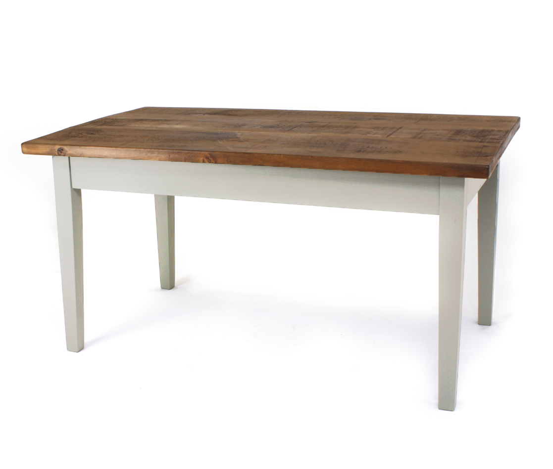 Pine Top 3 inch Tapered Table