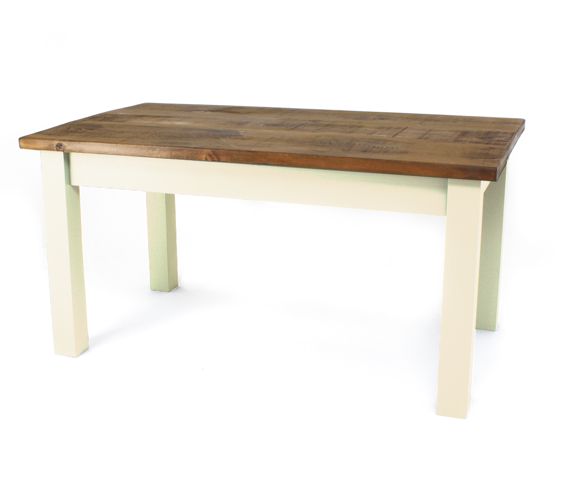 Pine Top 4 inch Square Table