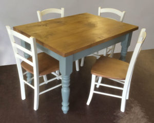 Handcrafted dining set