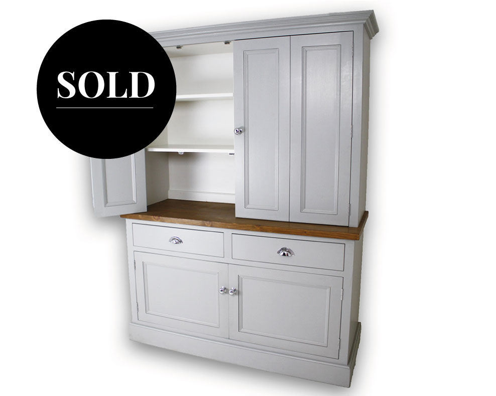 Bi-fold butler's pantry sold by Mudd & Co