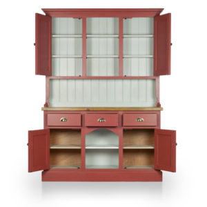 Dog Kennel Dresser with closed top