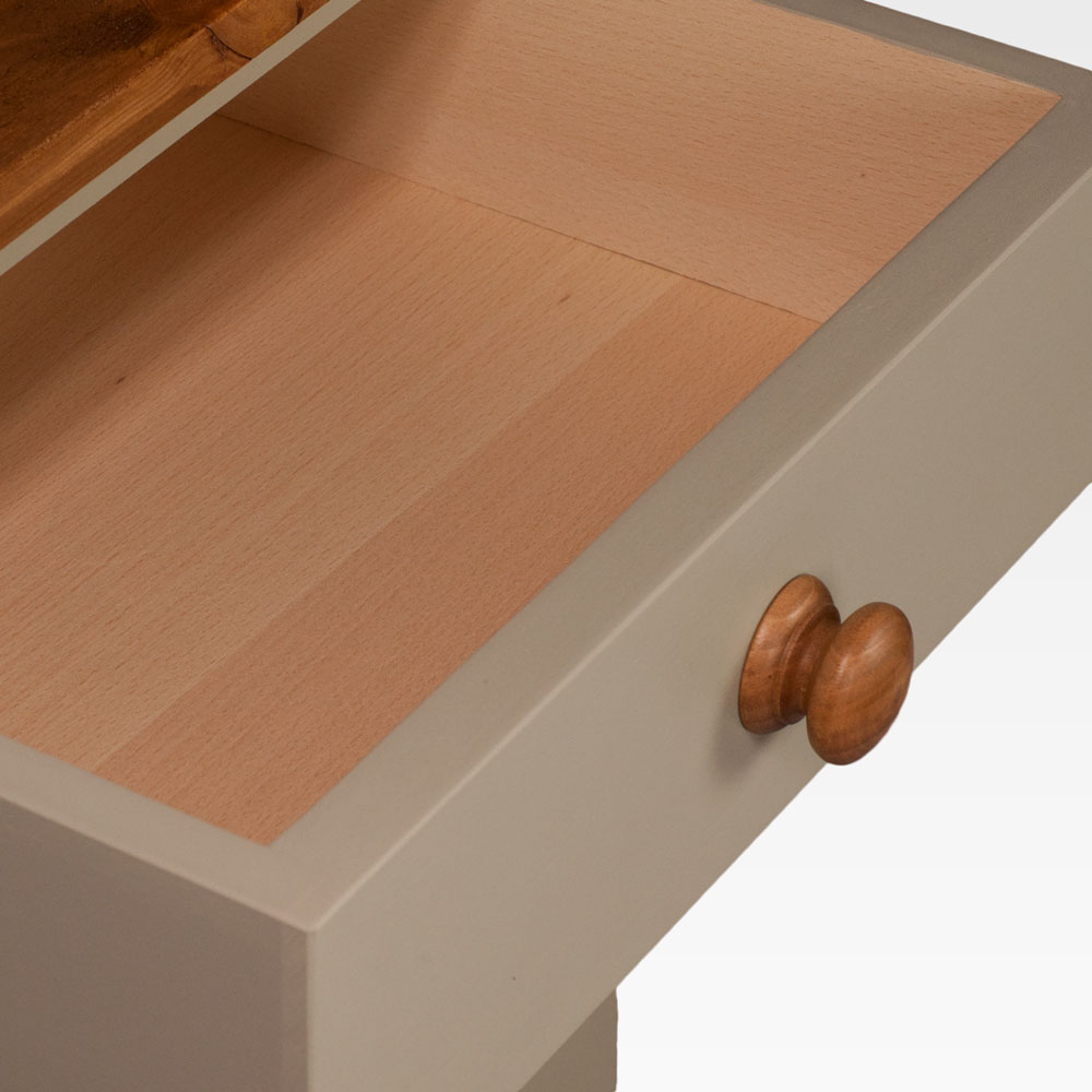 New England Dresser with oak handle painted in colour 3