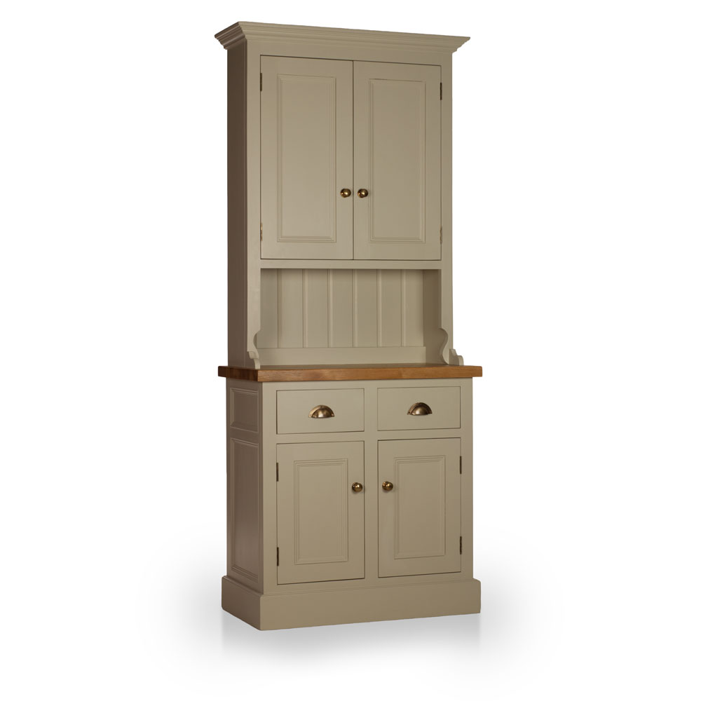Welsh Double Dresser with closed top with Thorncliffe door inlays