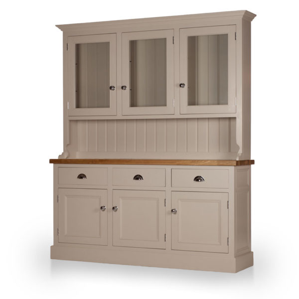Welsh Triple Dresser with glazed top