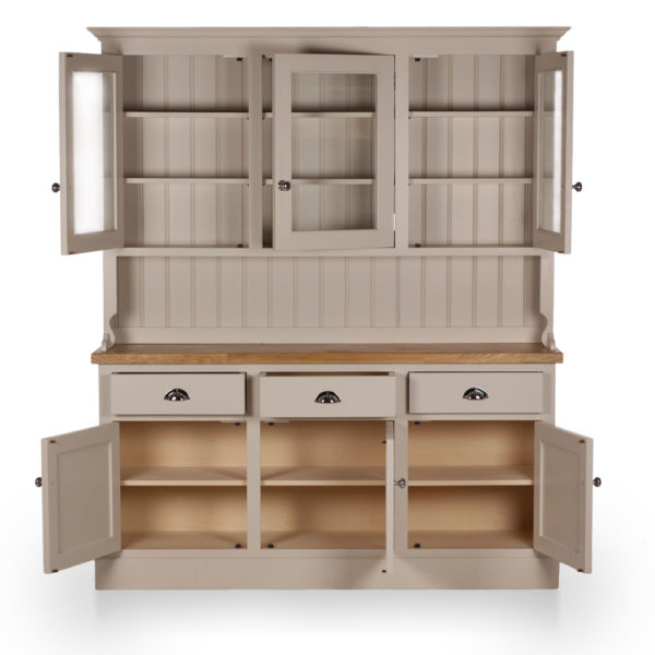 Welsh Triple Dresser with glazed top in colour 3