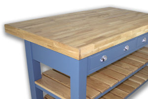 Double butcher block