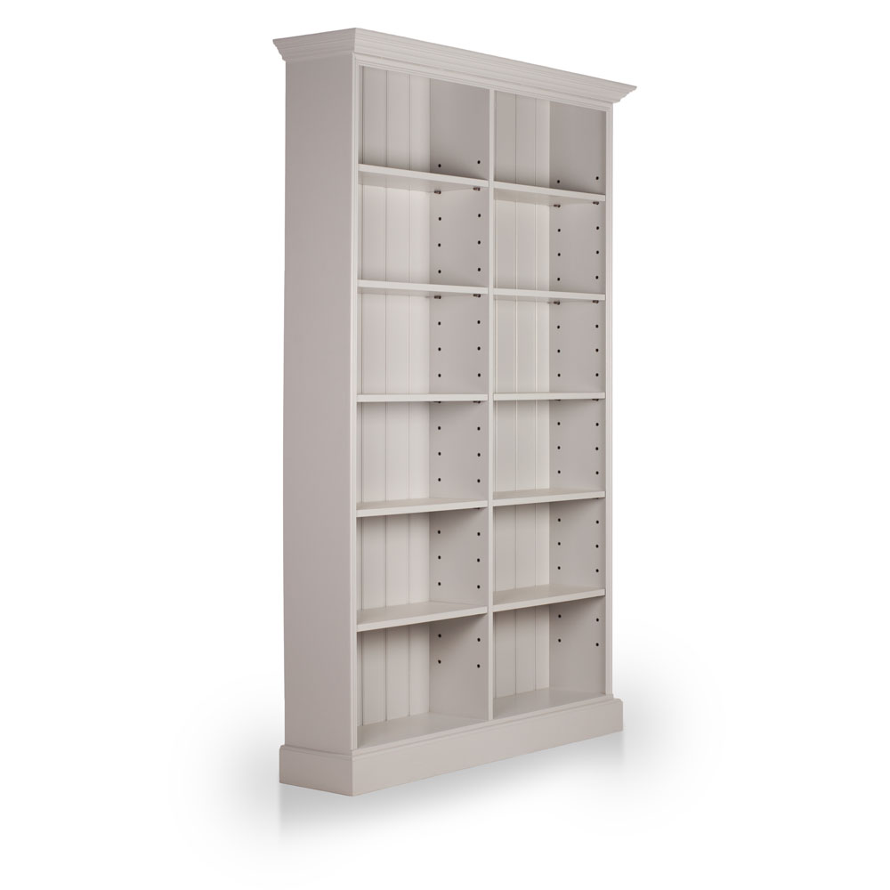 Alton Double Bookcase