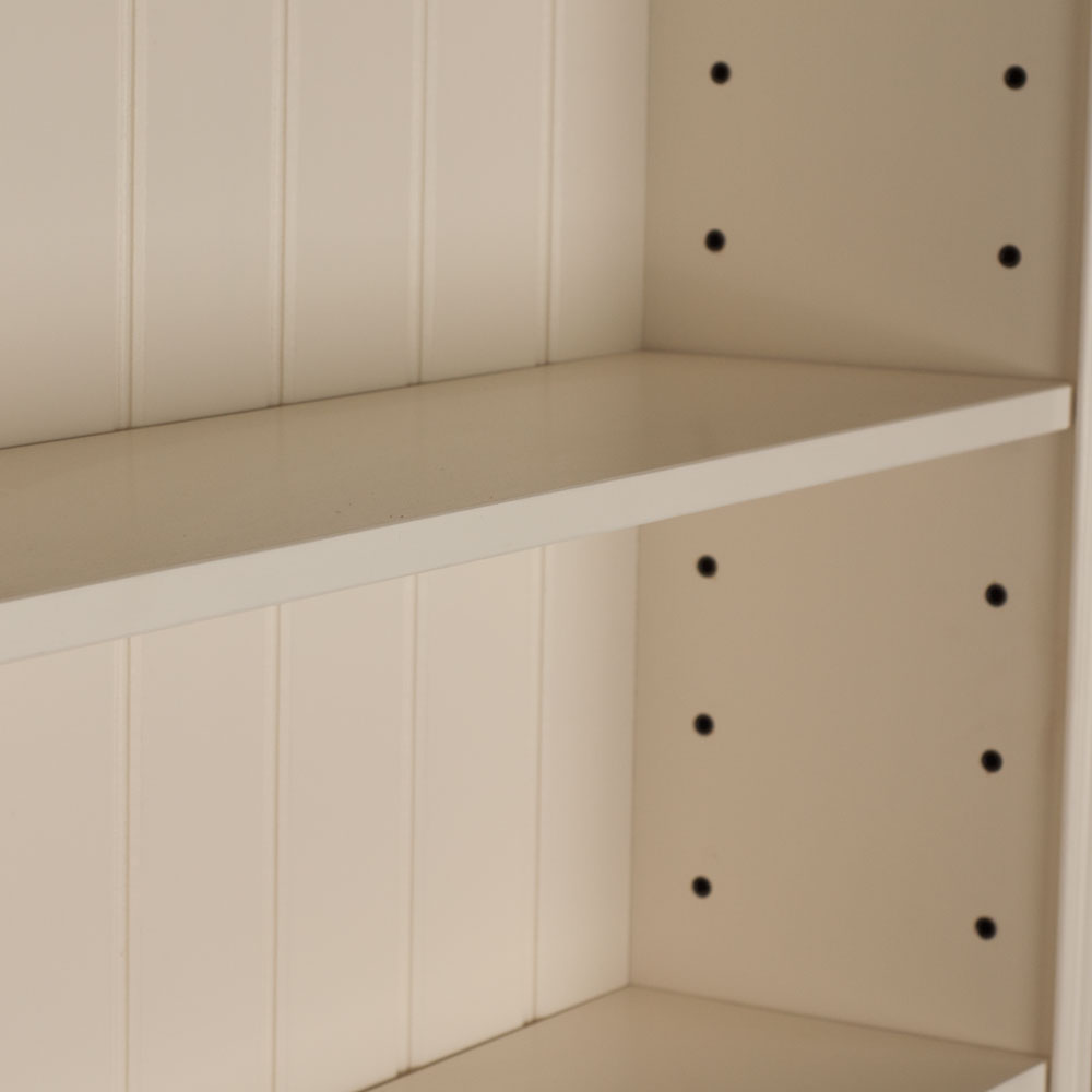 Alton Single Bookcase shelves