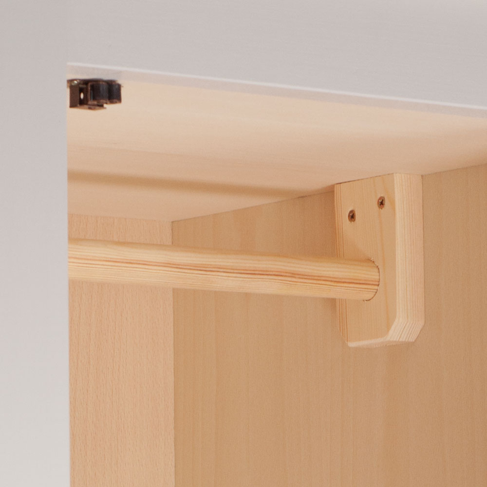 New England Single Wardrobe rail