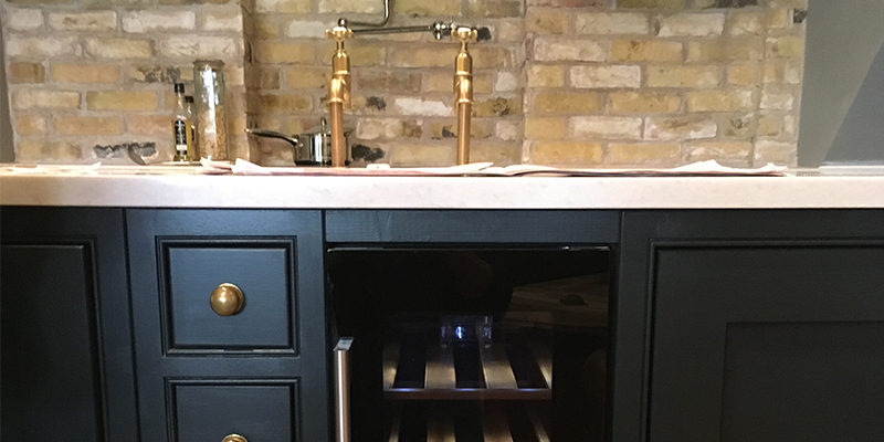 Beautifully Bespoke Freestanding Kitchen Sink Units Mudd Co