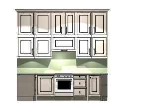London Townhouse Cooker Elevation