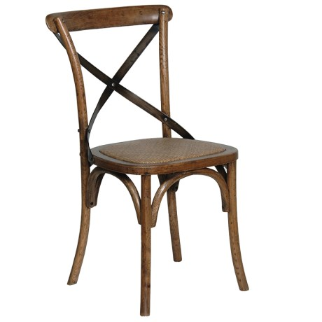 Barlaston Dark Elm X-Back Chair