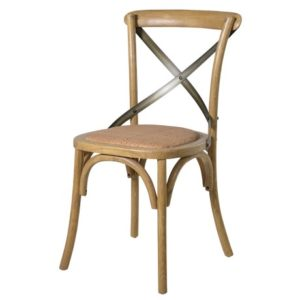 Barlaston Light Elm X-Back Chair