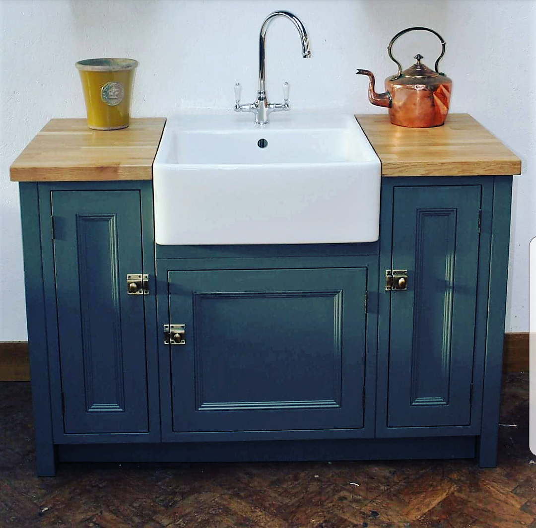 kitchen sink units beautifully bespoke freestanding kitchen sink units mudd 2956