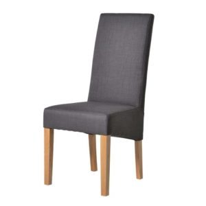 Longnor Dark Grey and Oak Dining Chair