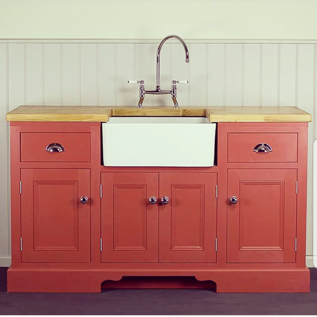 Free Standing Kitchen Cabinets Pictures: Beautifully Bespoke Freestanding Kitchen Sink Units
