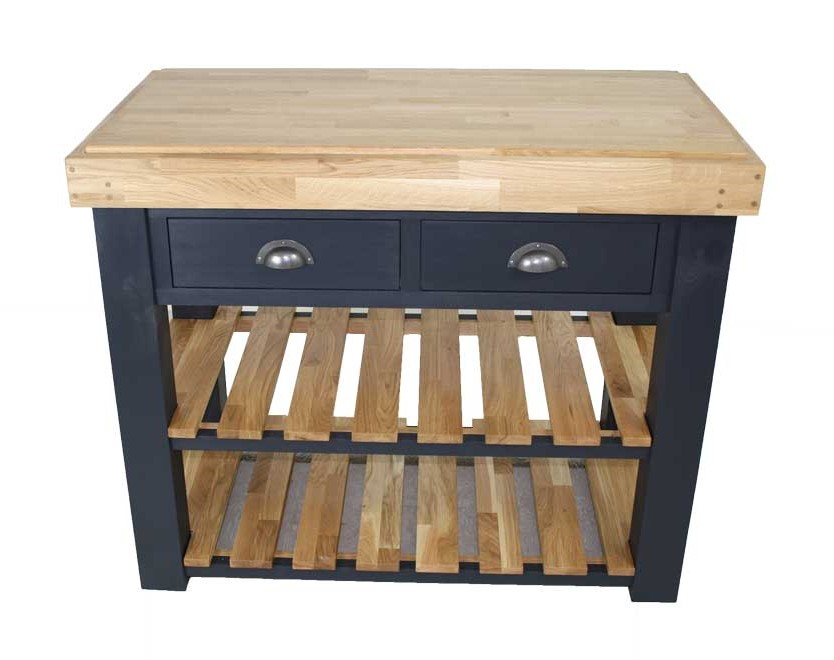 Butchers Block with Shelves and drawers