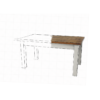 Blakelow table with 4 inch sqaure leg