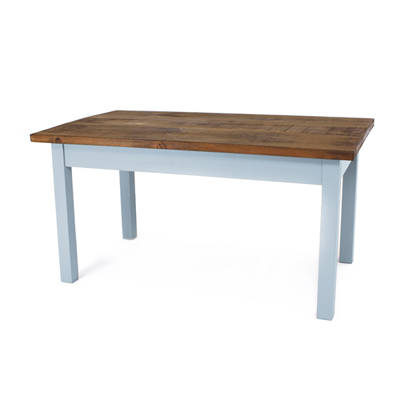 Narrow Square Leg Table, Handcrafted by Mudd & Co