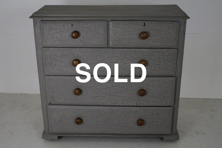 Antique chest of drawers Sold