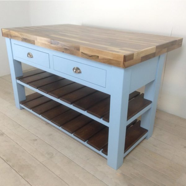 Walnut workstation Butchers block