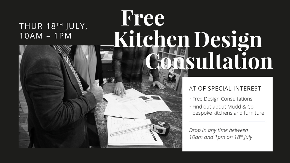 Free Kitchen Design Consultation at Of Special Interest