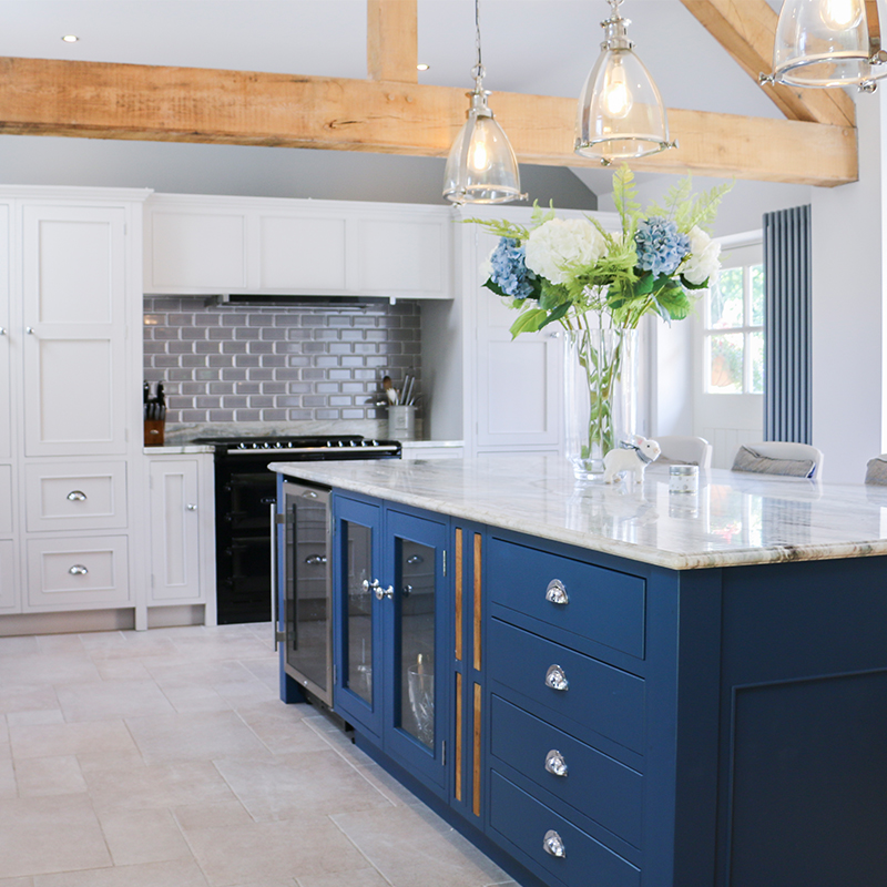17th Century Pub Conversion Kitchen by Mudd & Co