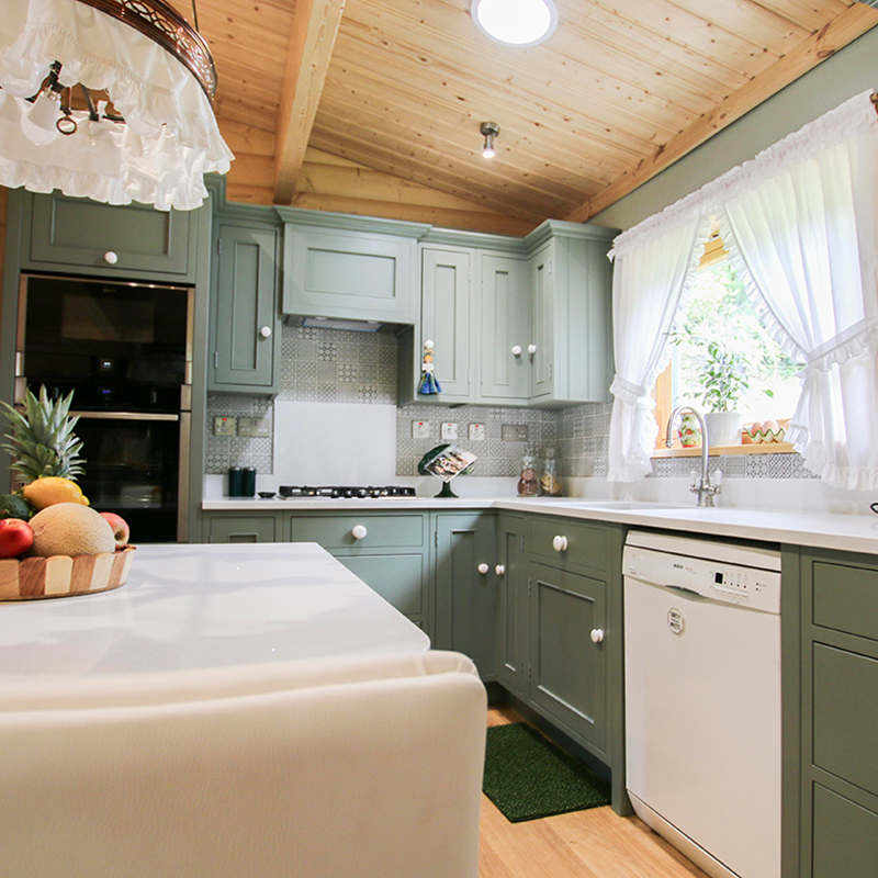 Log Cabin Kitchen by Mudd & Co