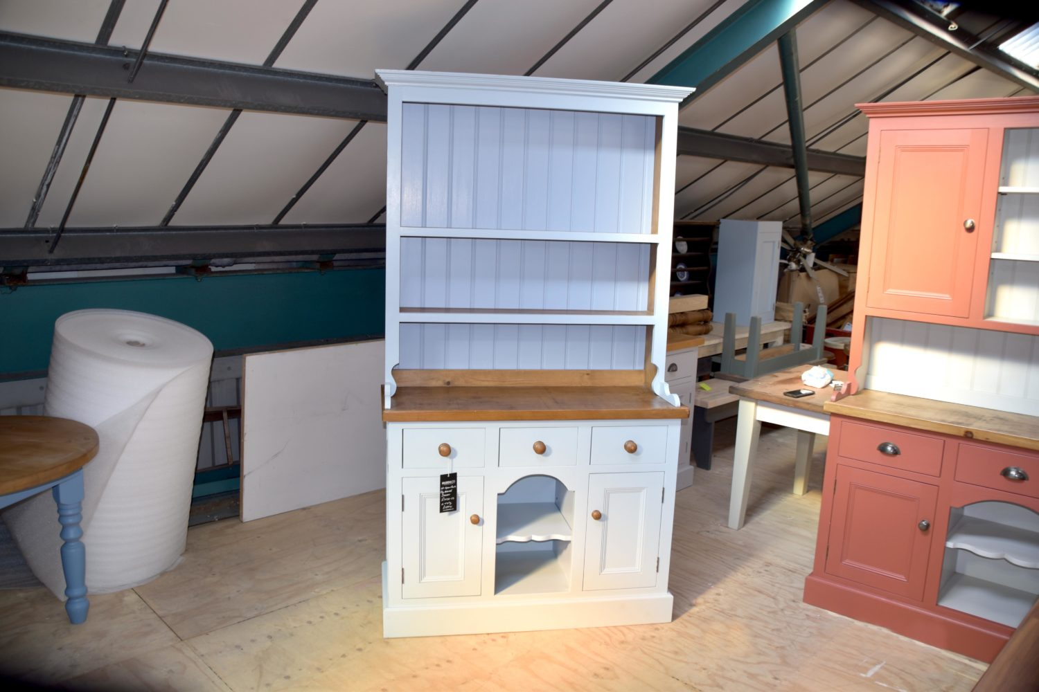 4ft Dog Kennel Dresser in the Mudd & Co factory sale 2020. Handcrafted kitchen and home furniture