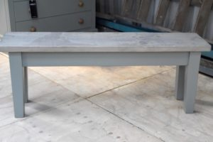 4ft Tapered Bench in the Mudd & Co factory sale 2020. Handcrafted kitchen and home furniture