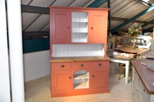 5ft Dog Kennel Dresser in the Mudd & Co factory sale 2020. Handcrafted kitchen and home furniture