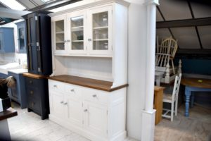 Glazed Triple Dresser in the Mudd & Co factory sale 2020. Handcrafted kitchen and home furniture