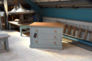 Plan Chest in the Mudd & Co factory sale 2020. Handcrafted kitchen and home furniture