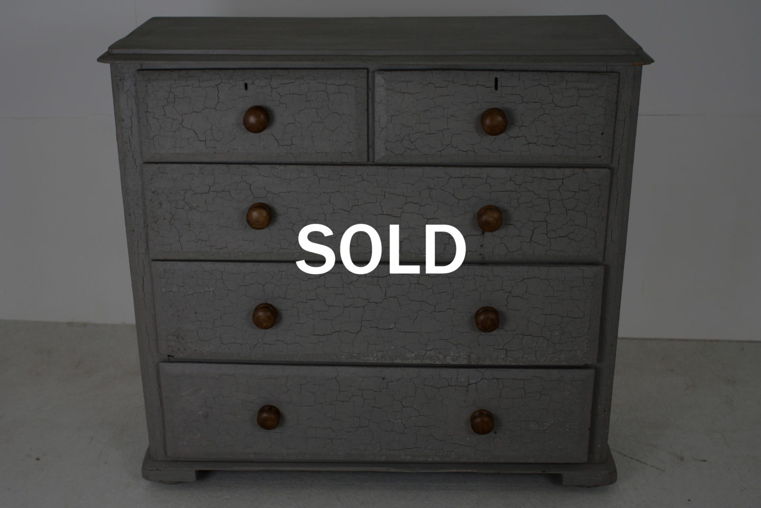 Antique Chest Of Drawers - SOLD