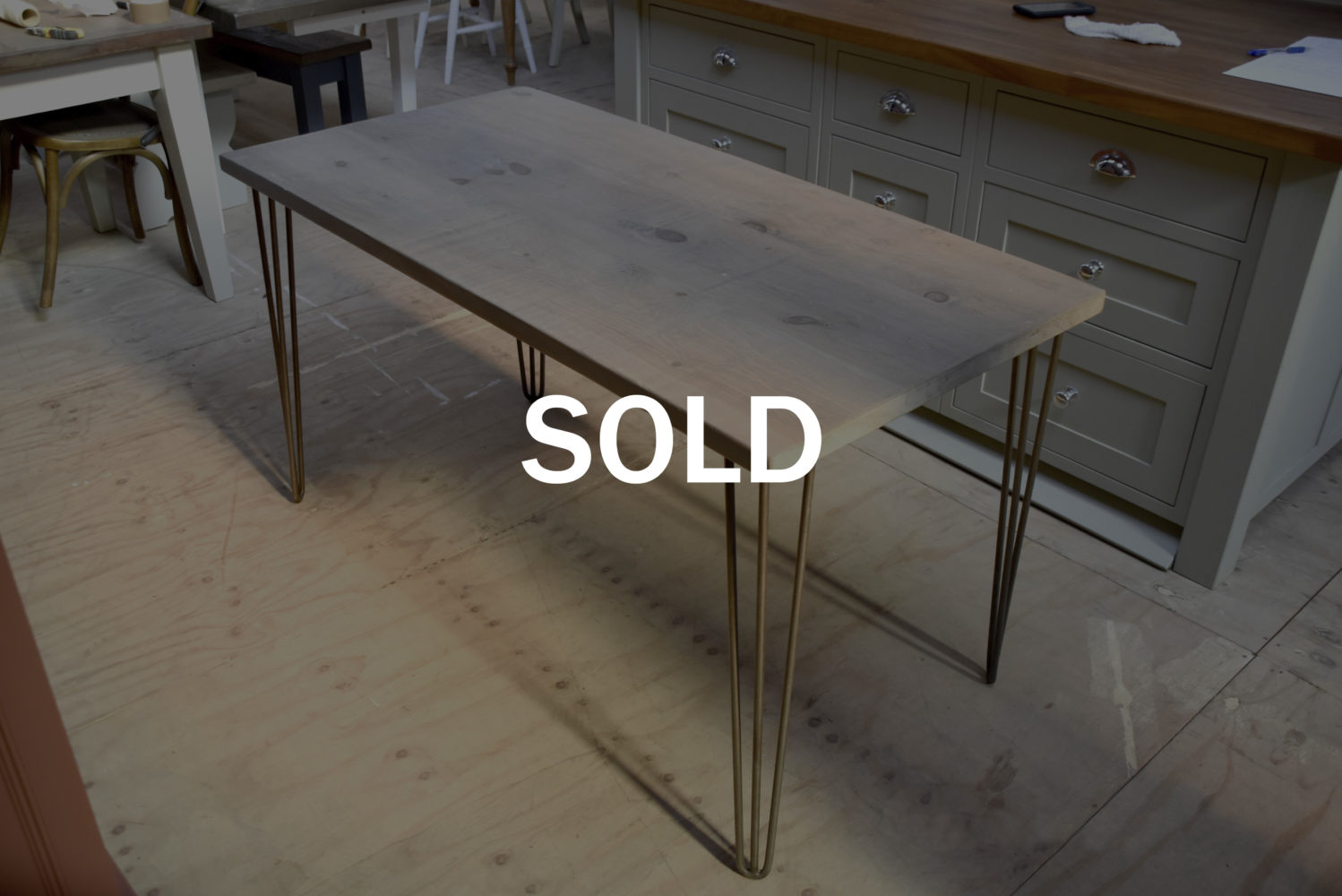Hairpin Table - SOLD