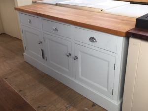 Sideboard in the Mudd & Co factory sale 2020. Handcrafted kitchen and home furniture