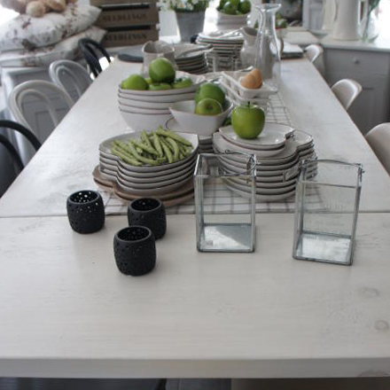 Leaf Tables - 10 Ways to Save Space in Your Kitchen Design by Mudd & Co
