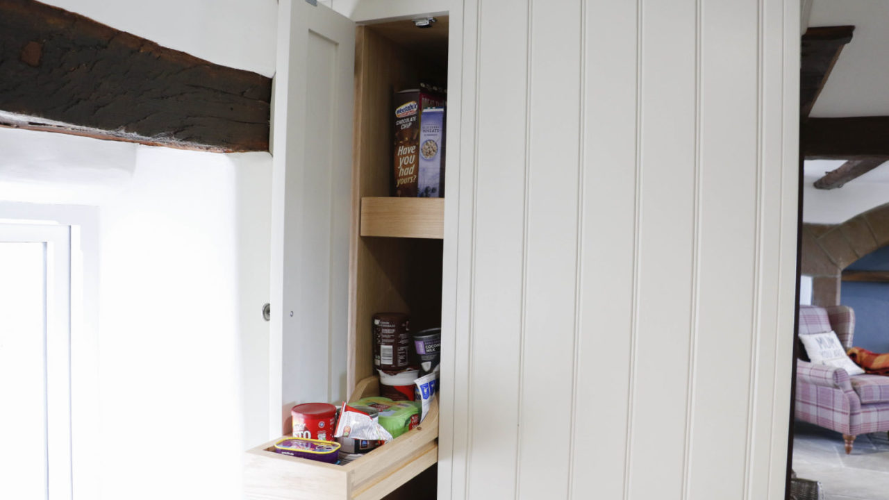 Clever Cupboards - 10 Ways to Save Space in Your Kitchen Design by Mudd & Co