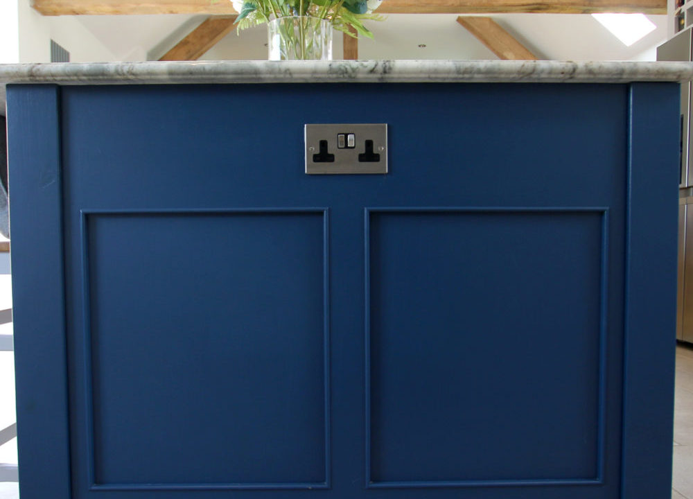 Integrated Plugs - 10 Ways to Save Space in Your Kitchen Design by Mudd & Co