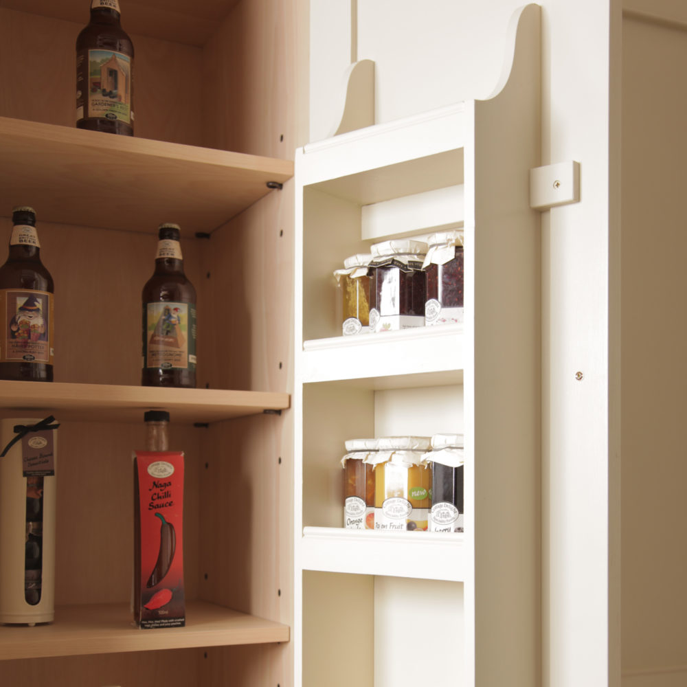 Spice Rack - 10 Ways to Save Space in Your Kitchen Design by Mudd & Co